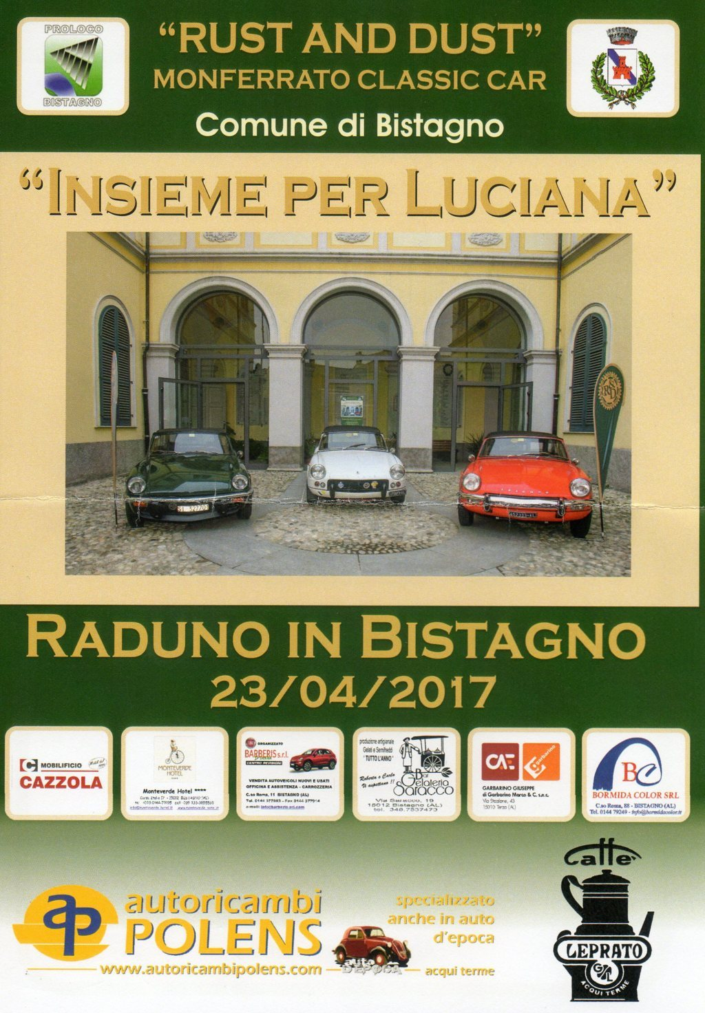 Il Rust And Dust A Bistagno Morganclubitalia